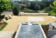 Modern Ranch Pool and Yard