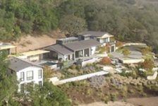 Modern Ranch aerial view