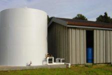 Water Tank in Chalk Hill