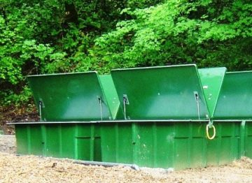 Series of Green Water Tanks