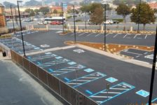 San Pablo Lytton Casino Parking Lot Handicap Striping 2