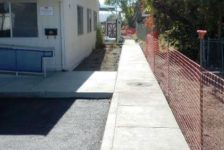 City of Calistoga Improvements Finished Walkway
