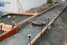 City of Calistoga Improvements framed walk area