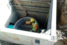 City of Calistoga Improvements Manhole Cage
