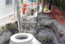 City of Calistoga Improvements Pipe Trench