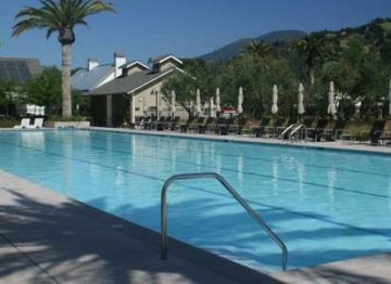 Solage Calistoga pool