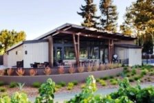 UPTick Vineyards Tasting Room Landscaping
