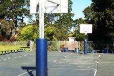 Mount Tamalpais School Campus Basketball Court