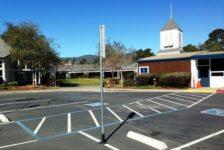 Mount Tamalpais School Parking Lot