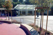 Mount Tamalpais School Campus Courtyard