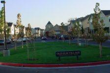 Old Elm Village Parking Area