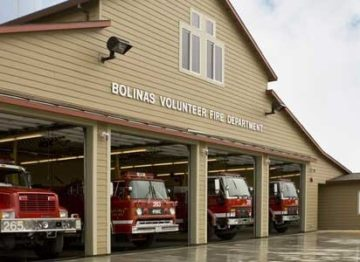 Bolinas Fire Station - Garage