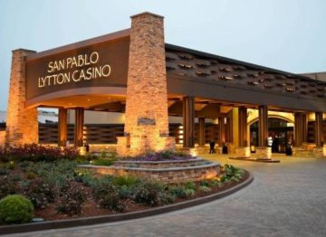 San Pablo Lytton Casino Circular Driveway