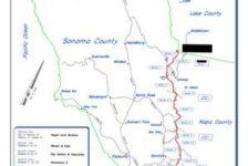 Retracement Survey Map