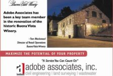 Adobe Associates Buena Vista Winery Ad