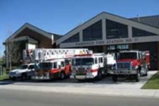 Firetrucks Outside of Fairfield Fire Station #37