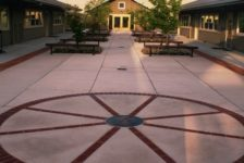Presentation School Courtyard