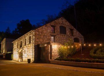 Buena Vista Winery Warm Lighting at Night