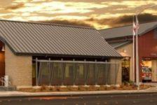 Cloverdale Fire Station Cloudy Sunset