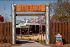 Lagunitas Brewery in Petaluma entrance to patio