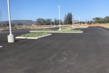 Victory Station Paved Parking