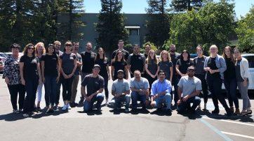 Group Photo of Adobe Associates Team