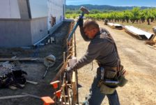 Aperture Cellars - Framing for Curb