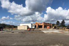 Aperture Cellars Hospitality Building Under Construction