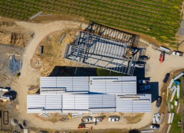 Overhead Image of Aperture Cellars