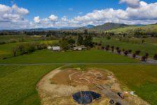 Aperture Cellars Aerial View of Land