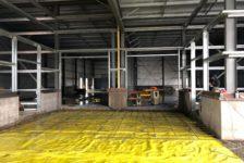 Inside Aperture Cellars - Building Interior Walls