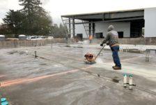 Aperture Cellars Working on Floor