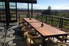MacRostie Tasting Room Outdoor Dining Table