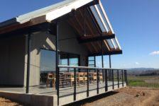 MacRostie Tasting Room Back Porch