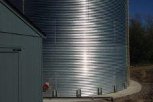 MacRostie Steel Water Storage Tank