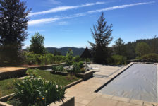 Private Healdsburg Residence Pool and Landscaping