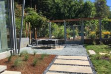 Private Healdsburg Residence Outdoor Dining Area