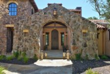 Adobe Canyon Estates Front Archway