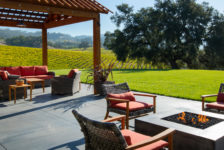 Robert Young Winery Outdoor Patio and Fire pit