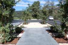 Robert Young Winery Parking Area