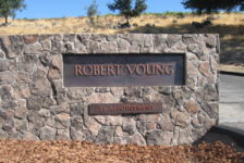 Robert Young Winery Entry Sign