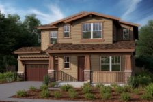 Digital Rendering of 2 story home at Kessing ranch