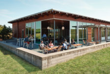 Cuvaison Estate Wines Tasting Room Outdoor Seating