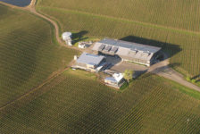 Cuvaison Estate Wines Aerial Image