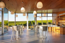 Inside Cuvaison Estate Wines Tasting Room