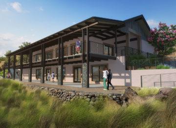 Paradise Ridge Hospitality Building Concept Art 2