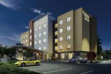 Conceptual Rendering of Hotel