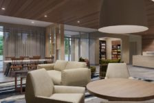 Conceptual Rendering of Hotel Lobby