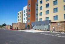 Fairfield Inn & Suites Rear Parking