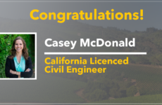 Casey McDonald, Professional Engineer
